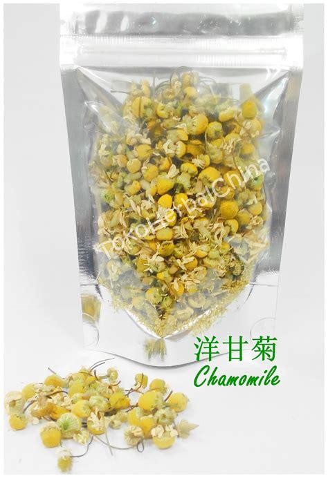 Teh Bunga jual teh bunga chamomile 10g toko herbal china