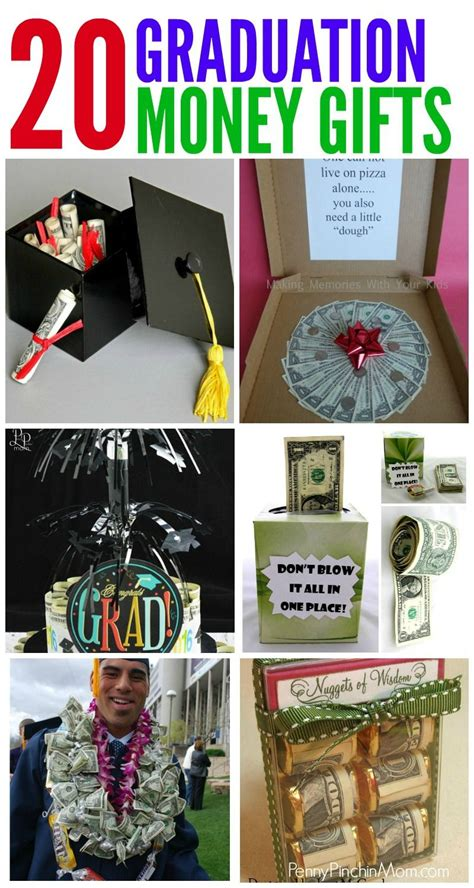 Graduation Gifts - more than 20 creative money gift ideas diy decor diy