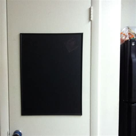 chalkboard paint on poster board chalkboard for the kitchen all you need is a