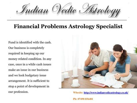 Financial Specialist by Ppt Financial Problems Astrology Specialist Powerpoint Presentation Id 7390692
