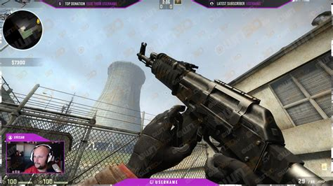 twitch overlay template yowie purple csgo owndtv