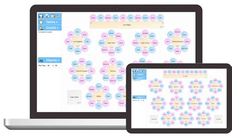 Table Plan Software For Your Wedding, Party or Event. Free