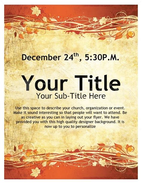 Free Printable Event Flyer Templates by Printable Event Flyer Templates Professional Concept