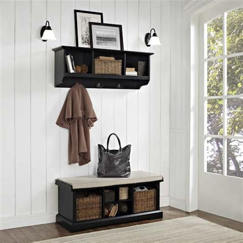 Foyer Furniture Pieces Crosley Furniture Brennan 2 Entryway Bench And