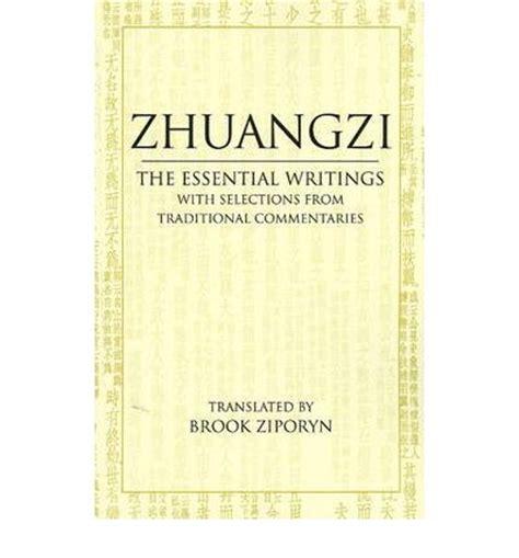 The Essential Writings zhuangzi the essential writings zhuangzi 9780872209114