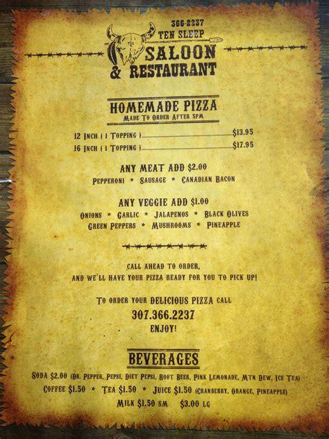 dead saloon menu advice for rock climbers heading to ten sleep wy weighmyrack