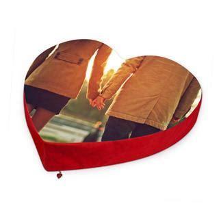 cuscino a cuore con foto cuscino cuore personalizzato con foto foto regali originali