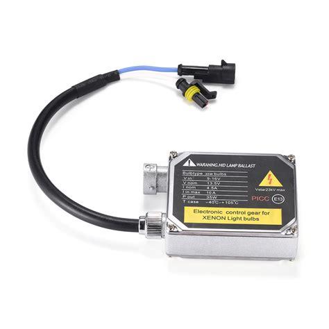 hid ballast for xenon light bulbs 2pcs hid lighting ballast 12v 35w electronic gear