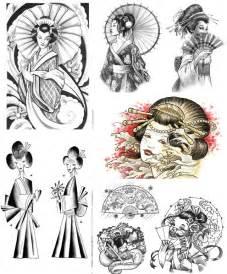 geisha tattoos designs and ideas page 16