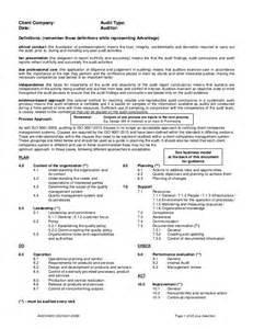 ai025 iso 9001 2015 checklist