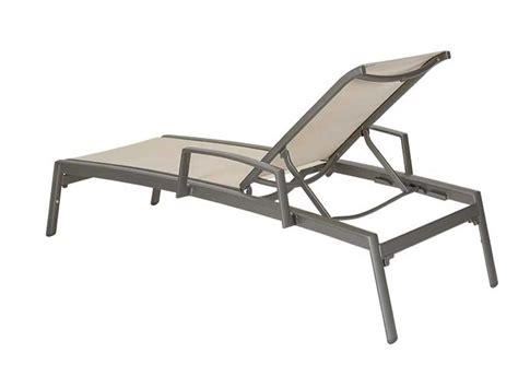aluminum sling chaise lounge tropitone elance relaxed sling aluminum chaise lounge with