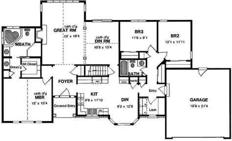 ranch house plans with vaulted ceilings house plan 2017 ranch home with vaulted ceilings 19542jf architectural