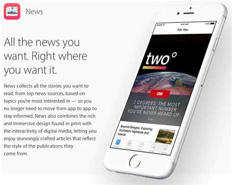 Apple News Format Expands To All Publishers For Richer Mac Rumors Apple Mac Ios Rumors And News You Care About
