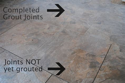 How To Install Ceramic Floor Tile In Kitchen - diy how to install groutable vinyl floor tile jenna burger