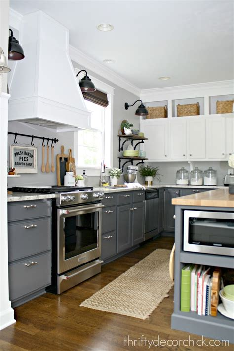 How To Extend Kitchen Cabinets To Ceiling by A Diy Kitchen Renovation Update Nine Months Later From Thrifty Decor