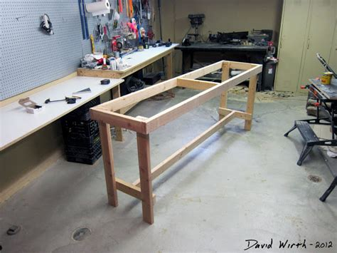 2 x 4 bench workbench from 2x4 s easy build plans