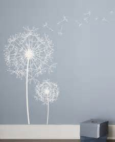 Dandelion Wall Art Stickers Dandelion Wall Decal 2017 Grasscloth Wallpaper