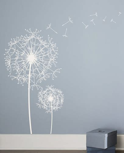 dandelion wall sticker dandelion wall decal sticker flickr photo