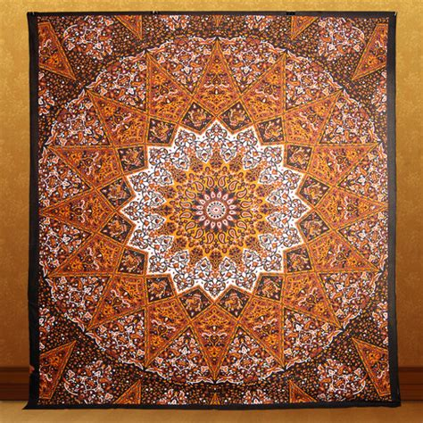 psychedelic bedding home accessory tapestry mandala psychedelic star