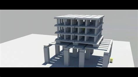 residential building design and 3d animation youtube 3d animation building demolition youtube