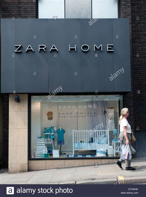 branch of zara home furnishings store in hstead
