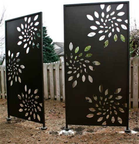olson privacy panels  pergola screen contemporary