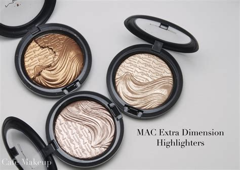 Mac Highlighter mac dimension highlighters swatch comparisons
