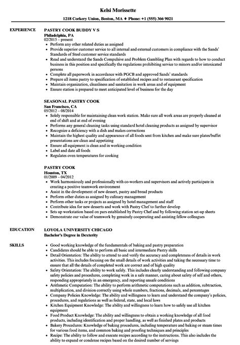 pastry chef cover letter sample ideal pictures apprentice resume sle