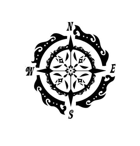 compass tattoo einfach 35 besten compass tattoos bilder auf pinterest sch 246 ne