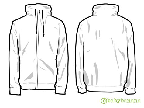 jacket template d by babybanana on deviantart