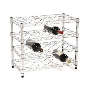 Garage Wine Storage by Seville Classics She05120 20 Bottle Wine Rack Metal
