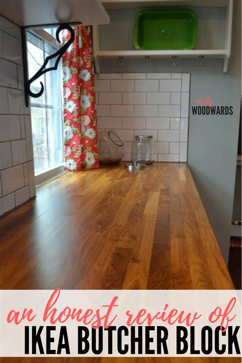 a review butcher block countertops and waterlox