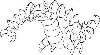 coloriage pokemon onix