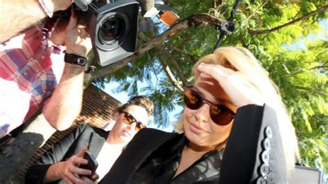 Suspended Sentence Criminal Record Lara Bingle Given Suspended Sentence