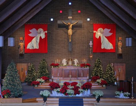 christmas decorating for church sanctuary ideas