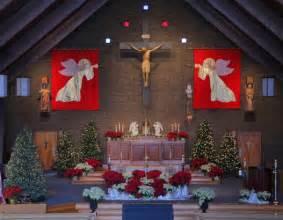 christmas decorating for church sanctuary ideas