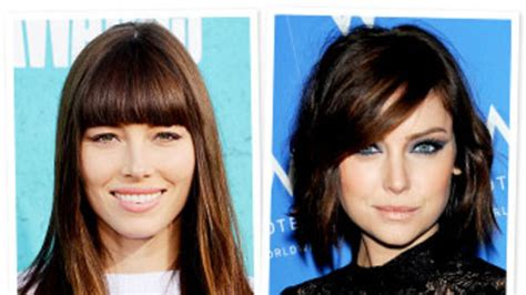 side swept bangs before after before and after pictures side swept bangs clip in clip