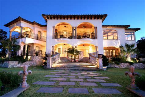 Home accents decorating ideas images in exterior mediterranean design