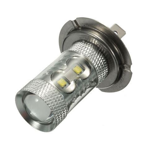 Fog Light Led Bulbs Pair 12v 50w H7 499 Led Daytime Projector Light Fog Light Bulb White Beam 6000k Alex Nld