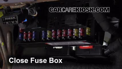 interior fuse box location   dodge caravan  dodge caravan cv
