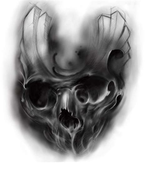 smoke skull tattoo cool skull designs best designs
