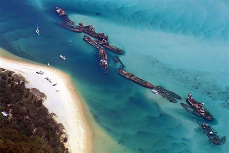 are sea born boats good tangalooma ship wrecks island of moreton australia