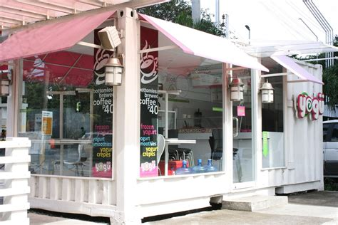coffee shop design philippines shipping container shop google search restaurant ideas