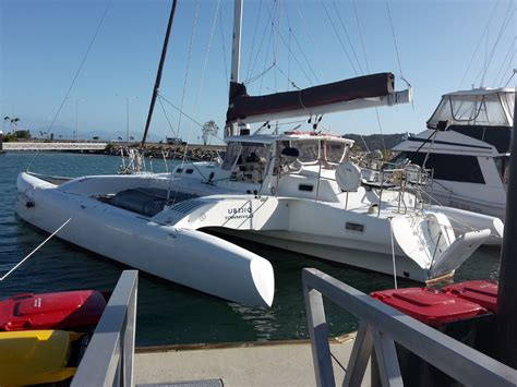 used hughes style modern designed and built trimaran for - Trimaran Yachts For Sale Australia