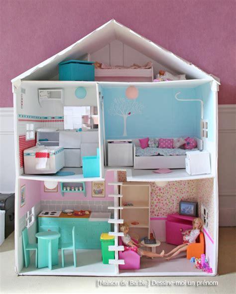 Diy Tutoriel Pour Fabriquer Une Maison De Barbie