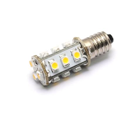 Ac Dc 12v 24v 1 8w 15x 3528 Cluster Led Light Bulb E10 Led Mini Light Bulbs