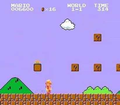 mario bros strangely works in person