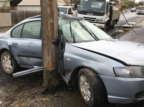 my car was stolen and crashed stolen car crashes at lake wendouree photos the courier