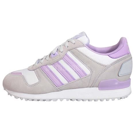 adidas classic shoes adidas zx 700 womens retro sports trainers grey purple