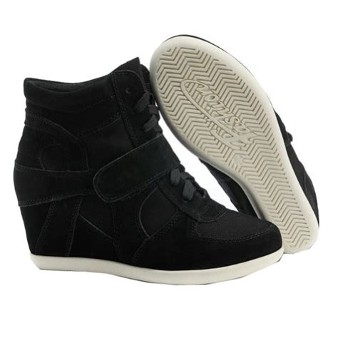 Kk0439 Wedges Fashion Wedges Import generic s formal wedge heel black suede
